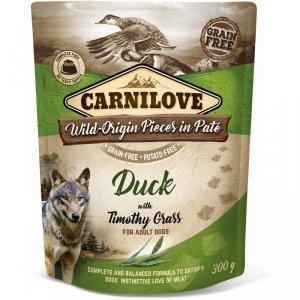 Carnilove Dog 7723 pouch Duck & timothy grass 300g