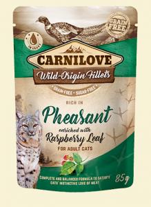 Carnilove Cat 8379 Pouch Pheasant & Raspberry 85g
