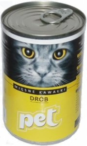 Pet Cat 810g Drób
