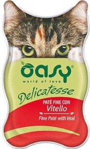 OASY 2245 Delicatesse Pate Cielęcina 85g