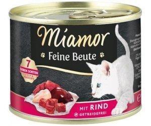 Miamor 74440 Beute Wołowina 185g dla kota