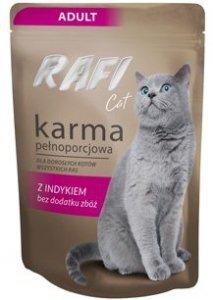 Rafi 2339 saszetka z indykiem 100g dla kota