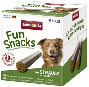 Animonda 82909 Fun Snacks Pałeczki Struś