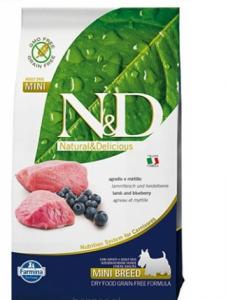 ND Dog NG 1823 Adult Mini 7kg Lamb&Blueberry