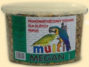 Megan ME7 Pokarm dla dużych papug 3 l/1700g
