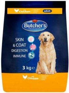 Butcher's 5094 Sucha dla psa 3kg z kurczakiem