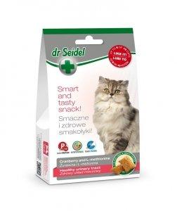 Dr Seidel 1636 Smakołyki d/kotów układ.moczowy 50g