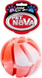 Pet Nova 0782 Piłka na przysmaki multikolor 6cm
