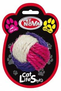 Pet Nova 2465 Piłka sizalowa 6cm