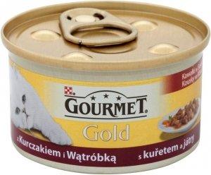 Gourmet Gold 85g Kurczak Wątroba