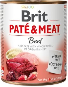 Brit Care Pate&Meat Beef 800g
