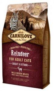 Carnilove Cat 2256 Reindeer Energy& Outdoor 2kg