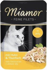 Miamor 74074 Filets Kurczak+Tuńczyk 100gr saszetk