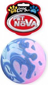 Pet Nova 0706 Piłka multikolor pełna 7cm vanilia