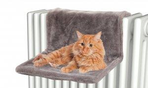Zolux 504059GRI hamak na kaloryfer dla kota szary