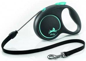 Flexi 3333 Black Design S Cord 5m niebieska