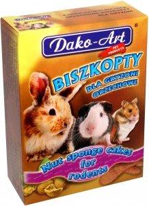 Dako-Art 384 Biszkopty orzechowe 50g dla gryzoni