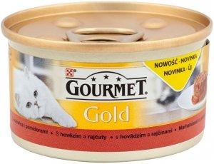 Gourmet Gold 85g Wołowina Pomidory