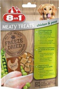 8in1 146087 Przysmak Freeze Dried Chicken Peas 50g