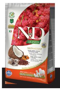 ND Dog NG 5530 Adult Quinoa 800g Skin&coat Herring