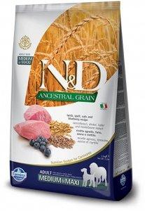ND Dog Ancestral 6278 Adult Lamb Blueberry 2,5kg
