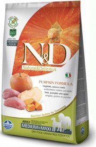 ND Dog NG 3215 Adult Mini Pumpkin 800g Boar&Apple