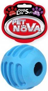 Pet Nova 2080 Piłka na przysmaki 6cm, niebieska
