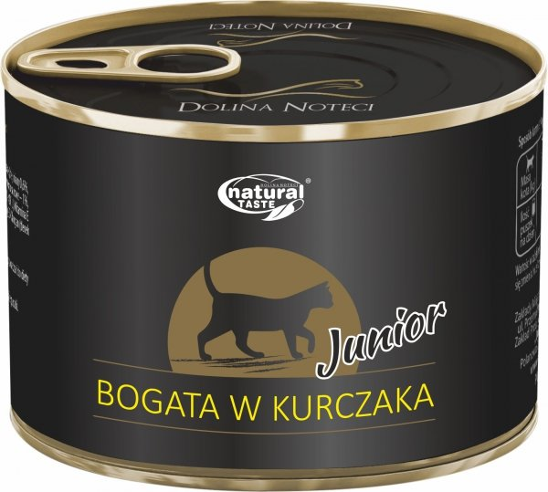 Natural Taste Cat 0172 Junior kurczak 185g