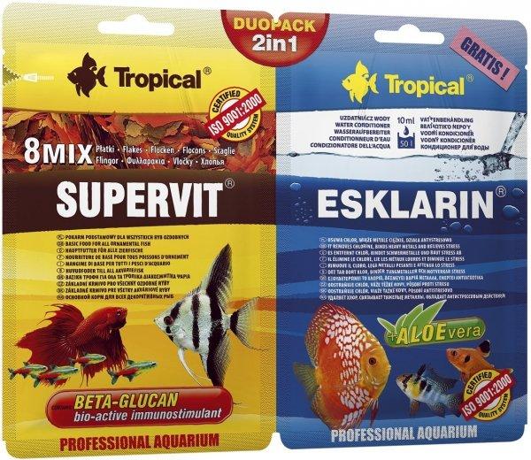 Trop. 70011 Duopack Supervit 12g +Esklarin 10ml