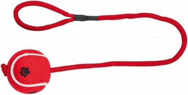 Trixie 3479 Piłka Tenisowa na sznurku 6x50cm