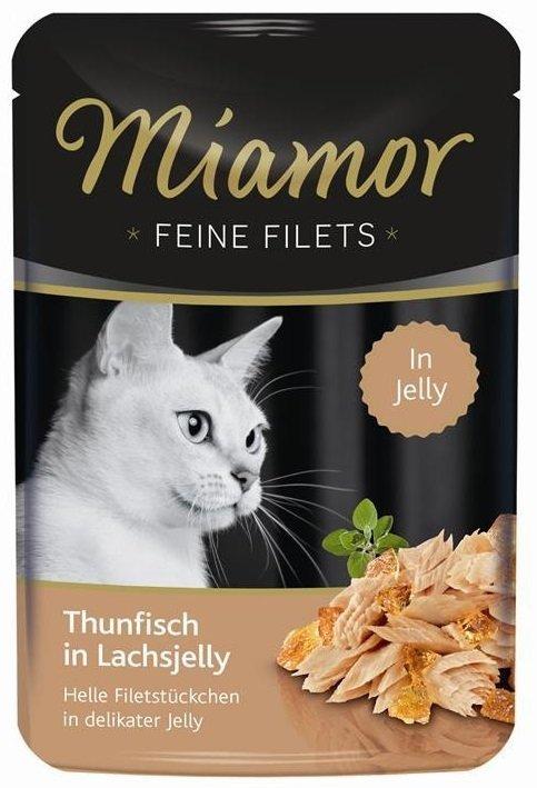 Miamor 74078 Filets Tuńczyk + Łosoś 100gr saszetka
