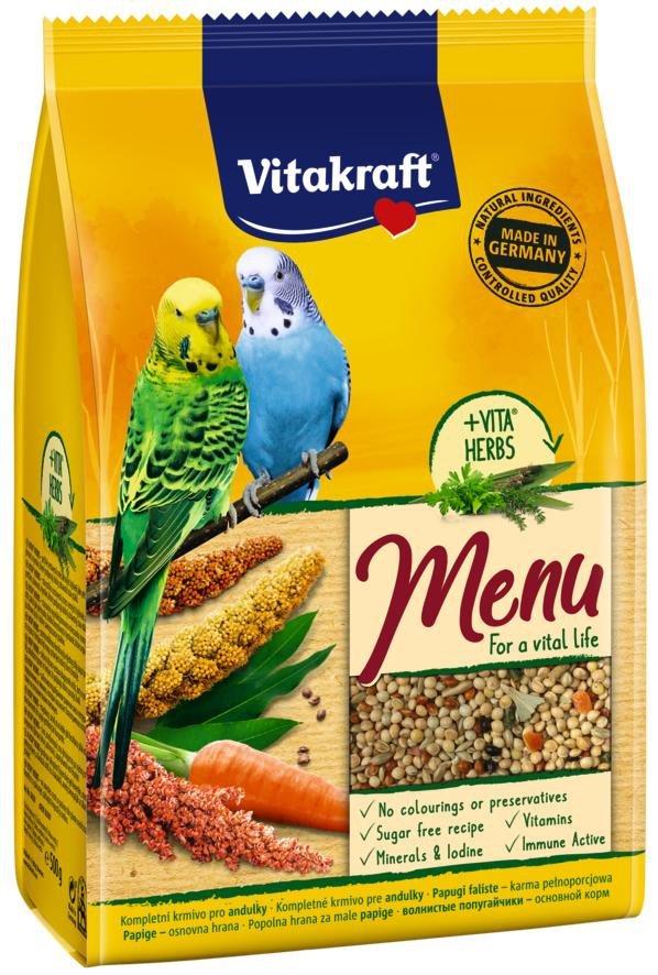 Vitakraft 10619 Menu Vita Herbs 500g papug falista