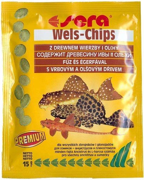 Sera 00513 Wels Chips 15g sasz dla bocji i sumy