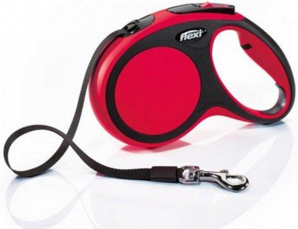 Flexi 2824 New Comfort M Tape 5m 25kg czerwona