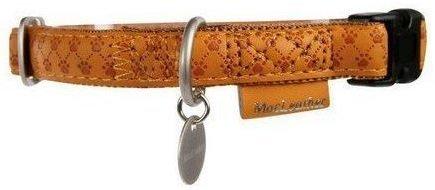 Zolux 522030JA Obroża Mac Leather 10mm żółty