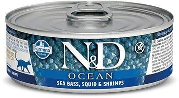 ND Cat Ocean 2024 Adult 80g Sea bass,squid Shrimp