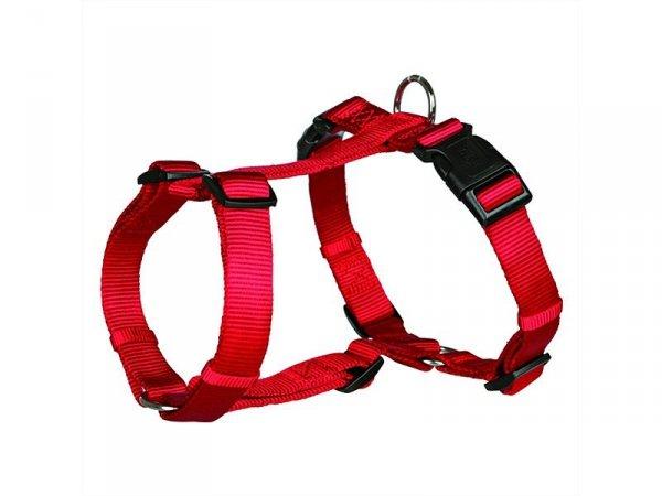 Trixie 203203 Uprząż Premium 30-40cm/10mm czerwon