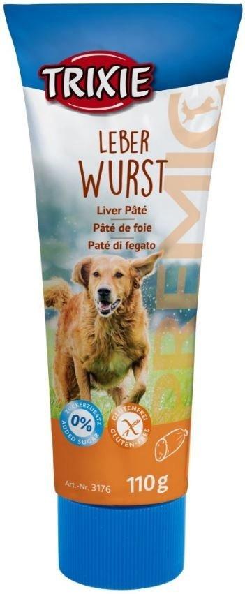 Trixie 3176 pasztet dla psów w tubie 110g wątróbka