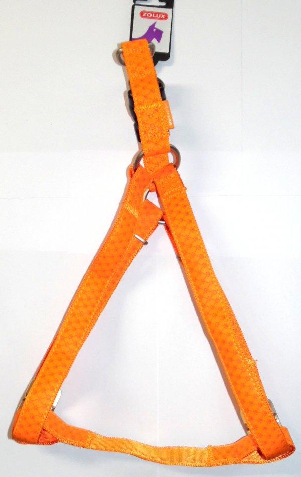 Zolux 435177ORA Szelki Mac Leather 25 mm pomarańcz