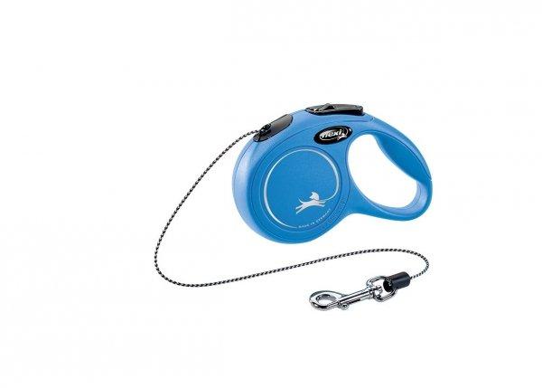 Flexi 2241 Classic XS Cord 3m 8kg niebieska