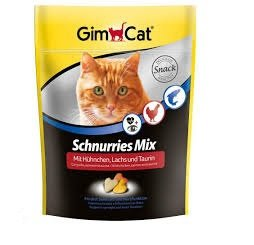 Gimcat 409382 Schnurries 650tabl. tauryna i łosoś