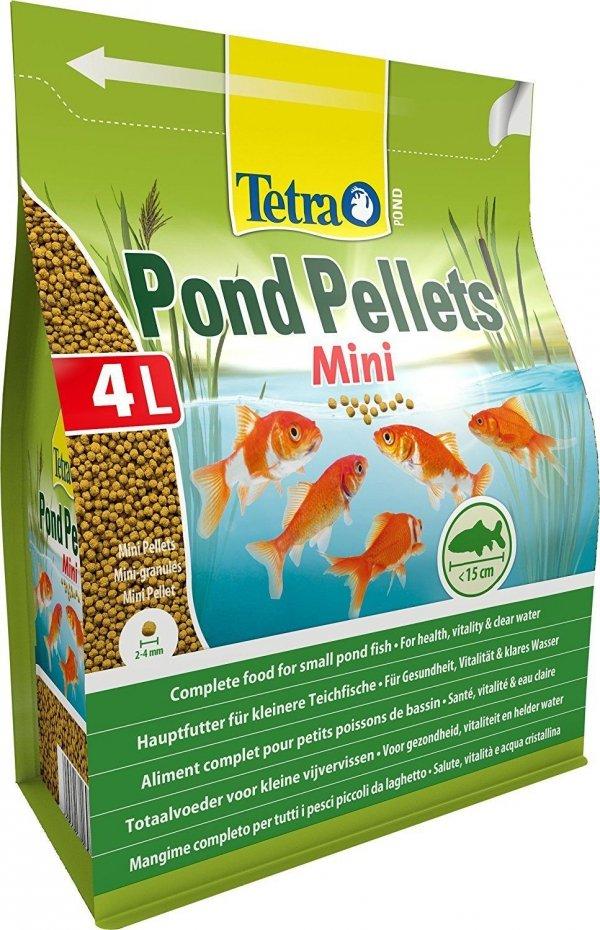 Tetra Pond 169807 Pond Pellets Mini 4L