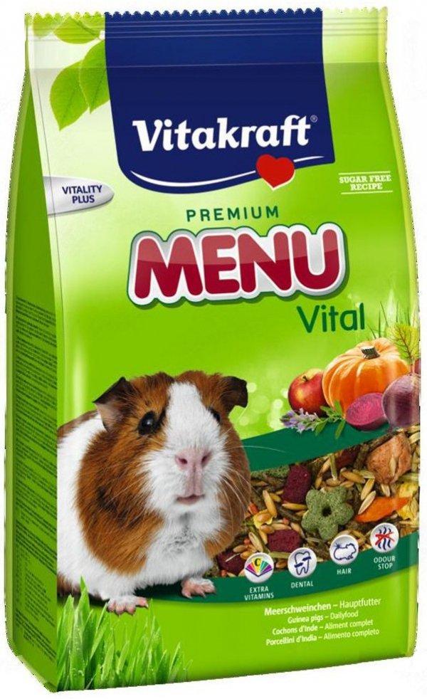 Vitakraft 6469 Menu Vital 400g dla świnki morskie