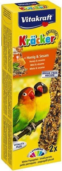 Vitakraft 2887 Kracker2 szt dla ptak african miód