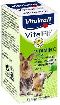 Vitakraft 1039 Vitamin C 10ml- krople dla gryz.