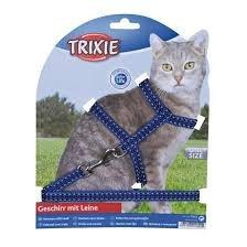 Trixie 4184 Szelki dla kota odblaskowe 22-42/120cm