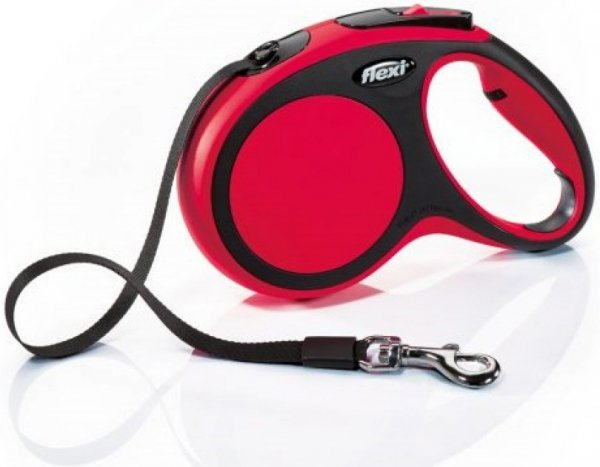 Flexi 2844 Comfort L Tape 8m 50kg czerwona*