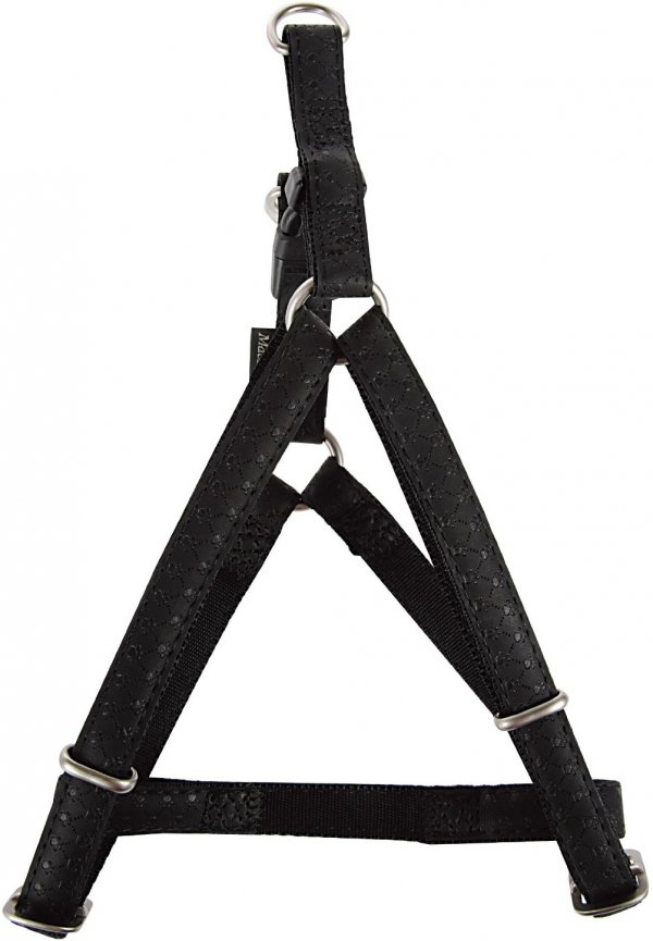 Zolux 522060NO Szelki Mac Leather 20mm czarne