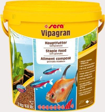 Sera 00204 Vipagran 10L - 3kg granulat