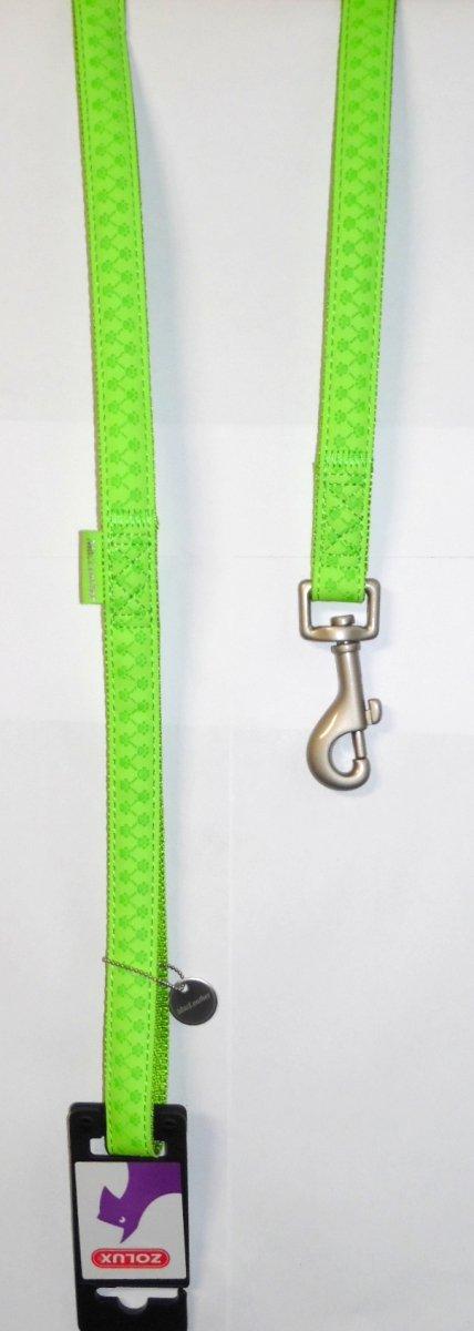 Zolux 435166ANI Smycz Mac Leather 10mm/1,2m seledy
